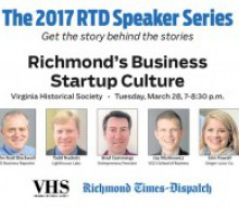 "RTD Presents: The 2017 Speaker Series ""Richmond's Business Startup Culture"""