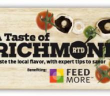 A Taste of Richmond – April 20