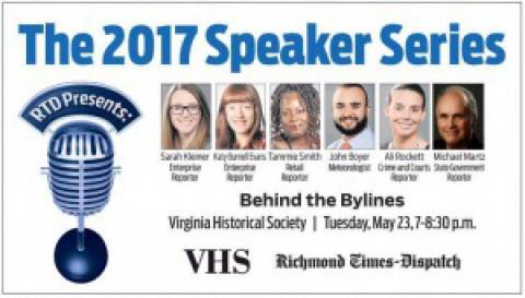 """RTD Speaker Series: """"Behind the Bylines"""""""