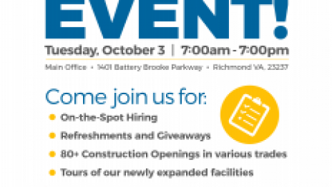 Atlantic Constructors Hiring Event – October 3