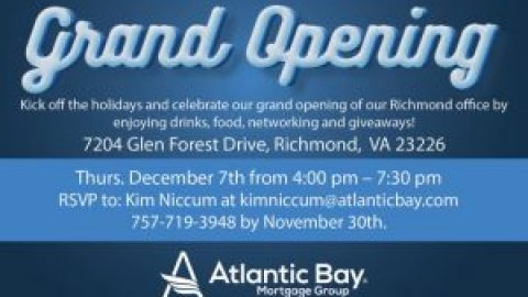 Kick off the Holidays Grand Opening / Ribbon Cutting / Food, Wine, Beer & Giveaways