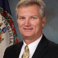 Official portrait of Virginia Secretary of Transportation Aubrey L. Layne, Jr.