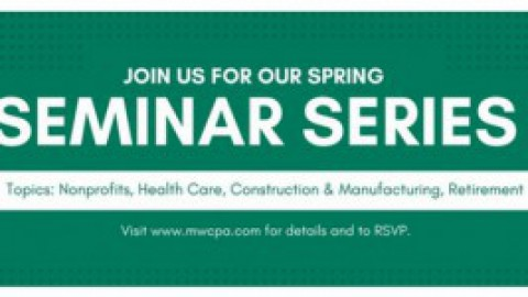 MWCPA hosts Spring Seminar Series