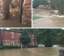 Heavy Flooding at Swift Creek Mill Theatre Creates Setback to Reopening